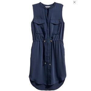H&M Navy Shirt Dress